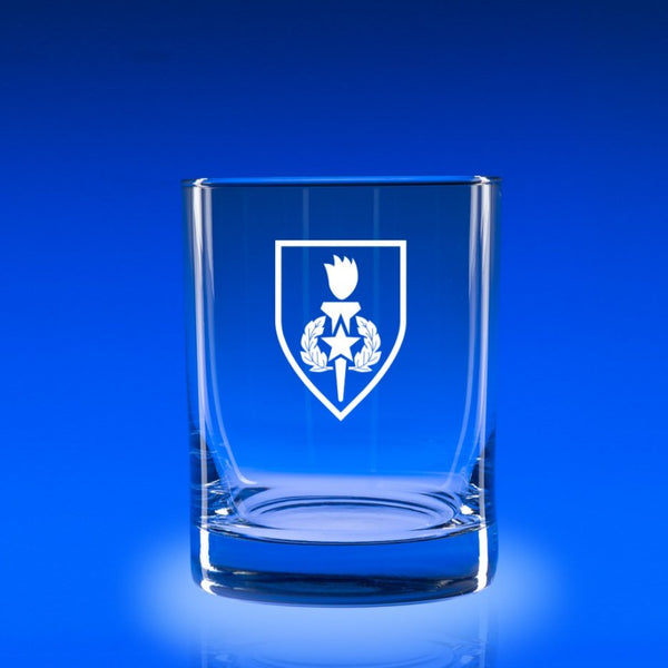 Army Sergeant Major School- Deluxe Rocks Glass Set