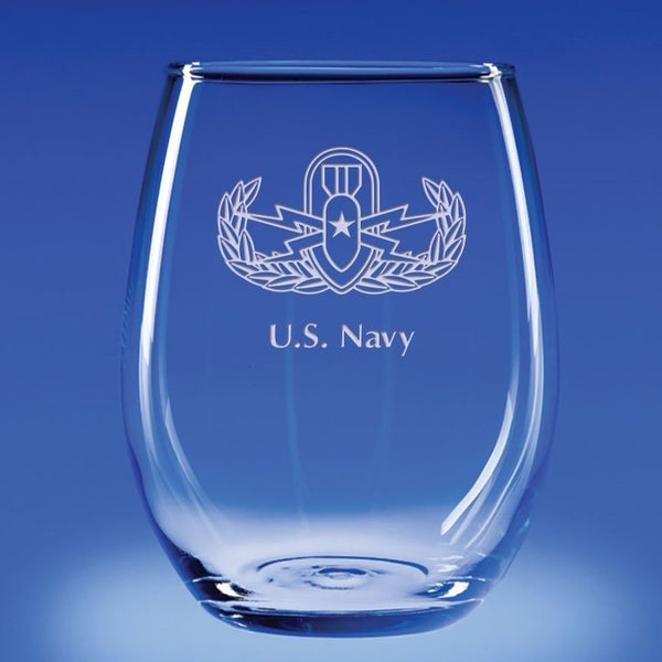 EOD - 21 oz. Stemless Wine Glass Set