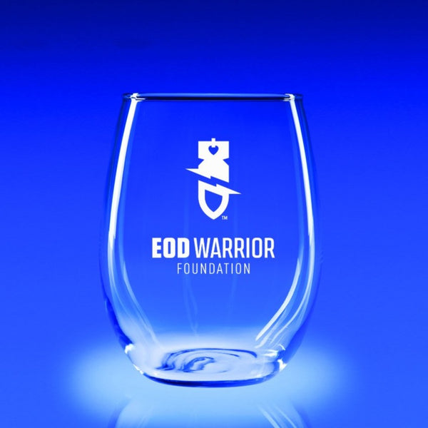 EOD Warrior Foundation-21 oz. Stemless Wine Glass