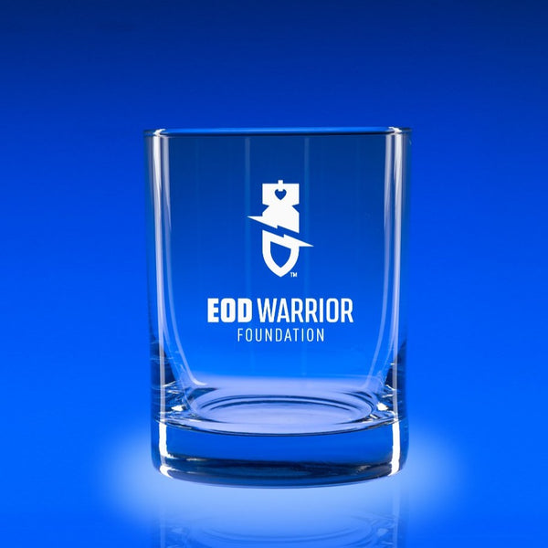 EOD Warrior Foundation- Deluxe Rocks Glass Set