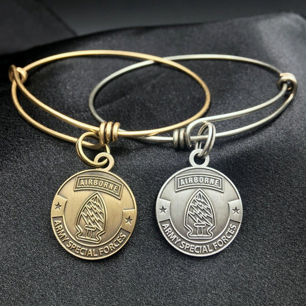 Army Special Forces Bangle Bracelet