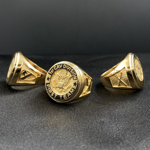 1st Cavalry Division Dress Ring
