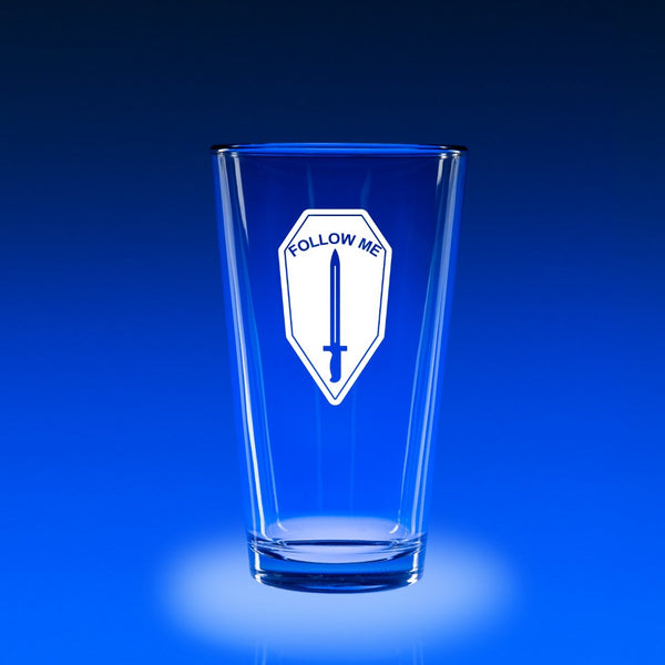 Infantry School - 16 oz. Micro-Brew Glass Set
