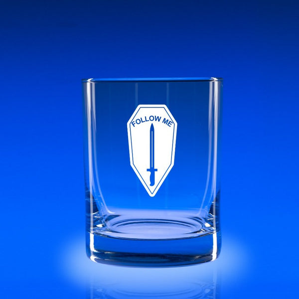 Infantry School - 11 oz. Rocks Glass Set