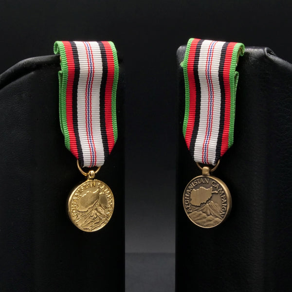 Afghanistan Campaign Medal - Miniature