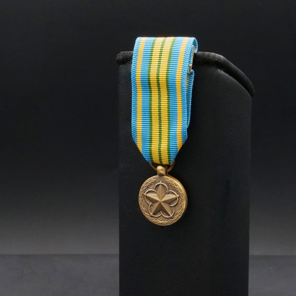 Military Outstanding Volunteer Service Medal - Miniature
