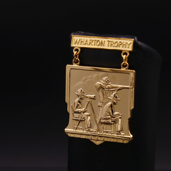 USMC Wharton Trophy Rifle Team Matches Qualification Badge