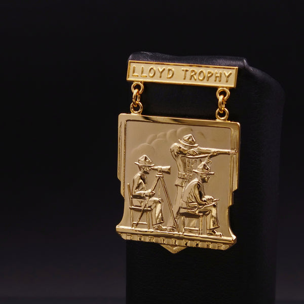 USMC Lloyd Trophy Rifle Team Matches Qualification Badge