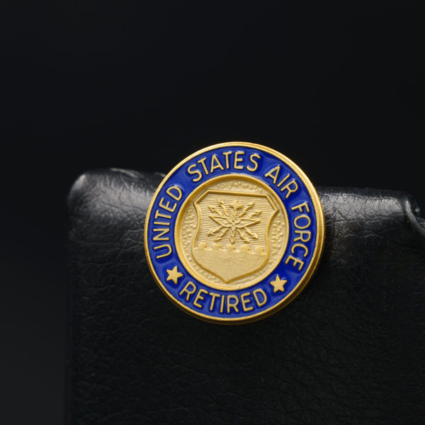 USAF Retired Lapel Pin