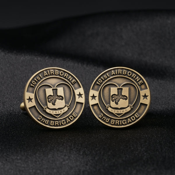 "2nd Brigade, 101st Airborne ""Strike"" Cufflinks"