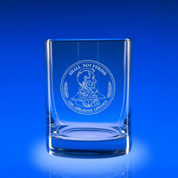 USS Abraham Lincoln- Deluxe Rocks Glass Set