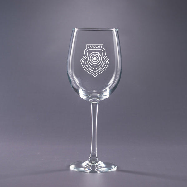 USAF Weapons School Graduate-16 oz. Wine Glass Set