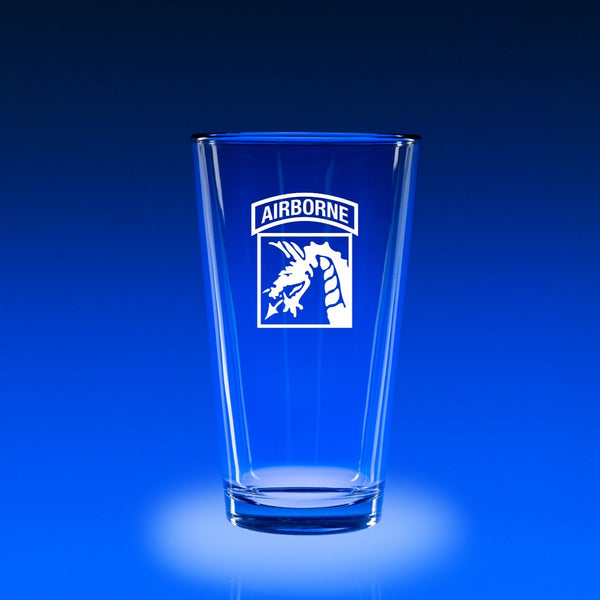 XVIII Airborne Corps - 16 oz. Micro-Brew Glass Set