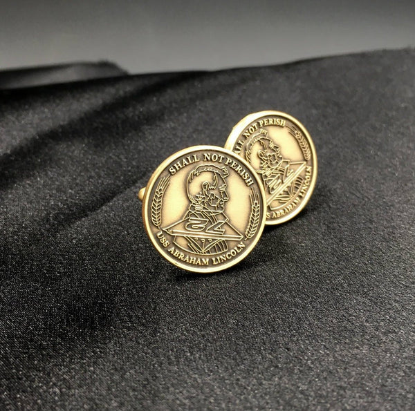 USS Abraham Lincoln Cufflinks
