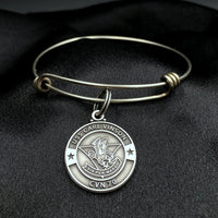 USS Carl Vinson Bangle Bracelet