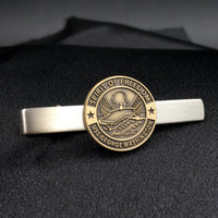 "USS George Washington Twotone 3"" Tie Bar"