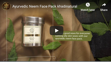 #Ayurvedic Neem Face Pack khadinatural