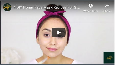 #4 DIY Honey Face Mask Recipes For Glowing Skin