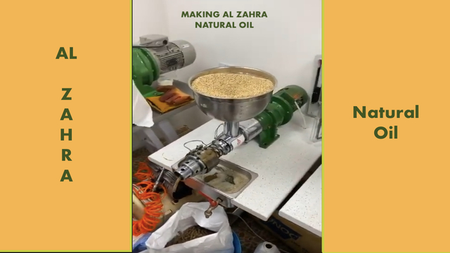 #Making Al Zahra Natural Oil