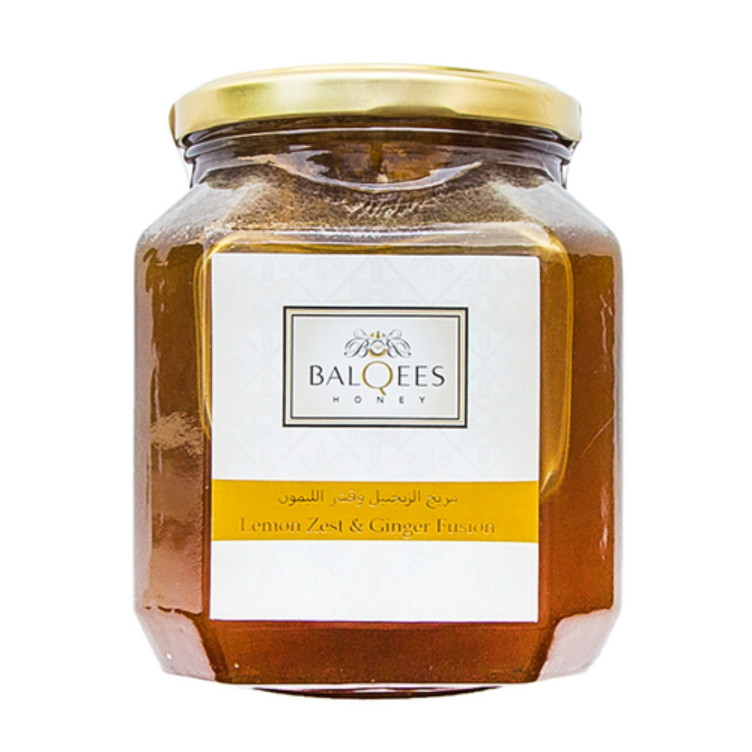Balqees Honey Lemon Zest and Ginger Fusion