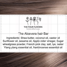 Load image into Gallery viewer, The Aloevera Hair Bar