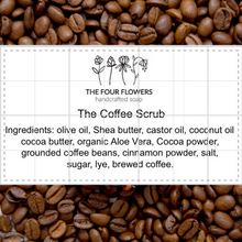 Load image into Gallery viewer, The coffee scrub soap
