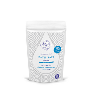 Salt and Crystal Himalayan salt bath Musk – Revitalize