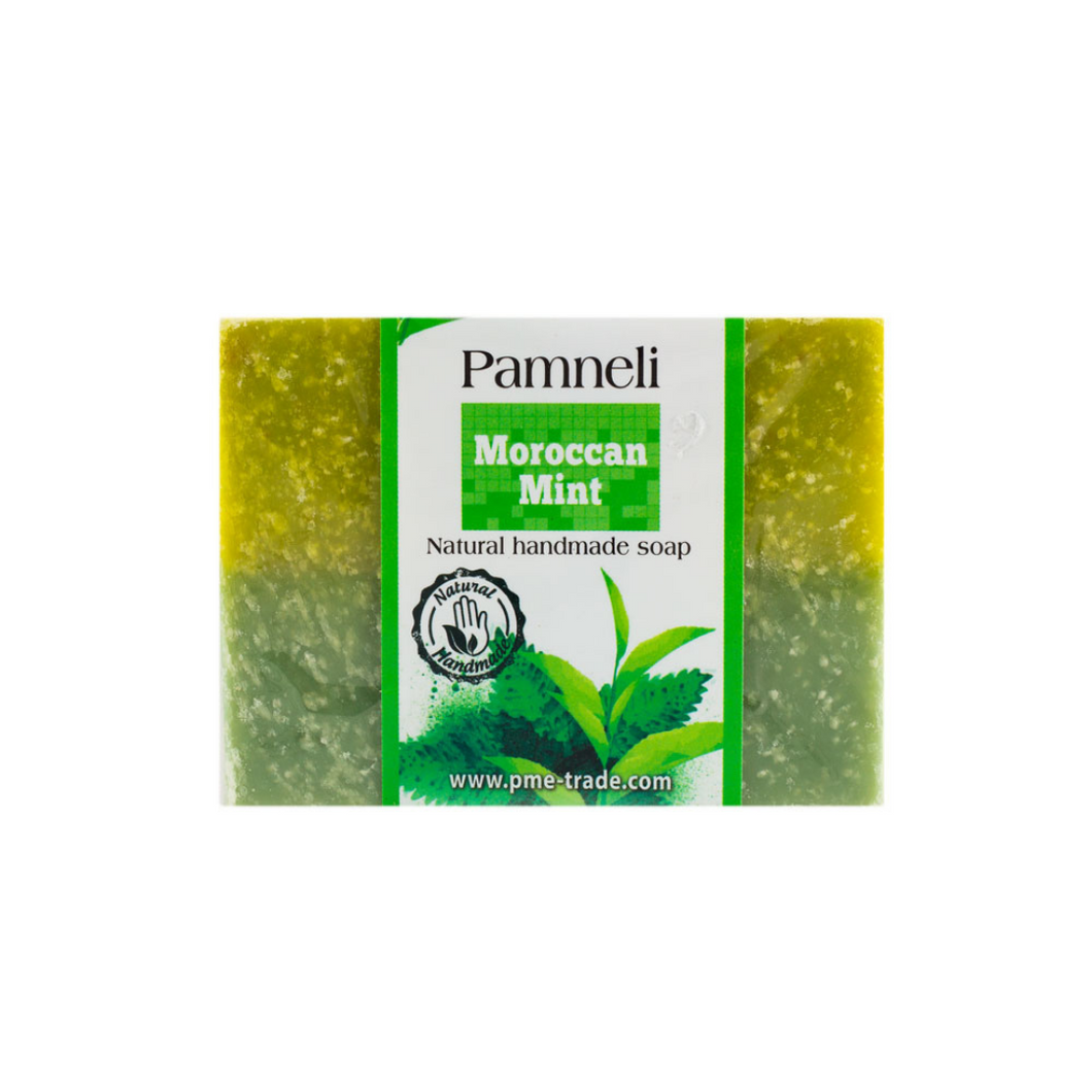 Salt and Crystal Pamneli Moroccan Mint Soap