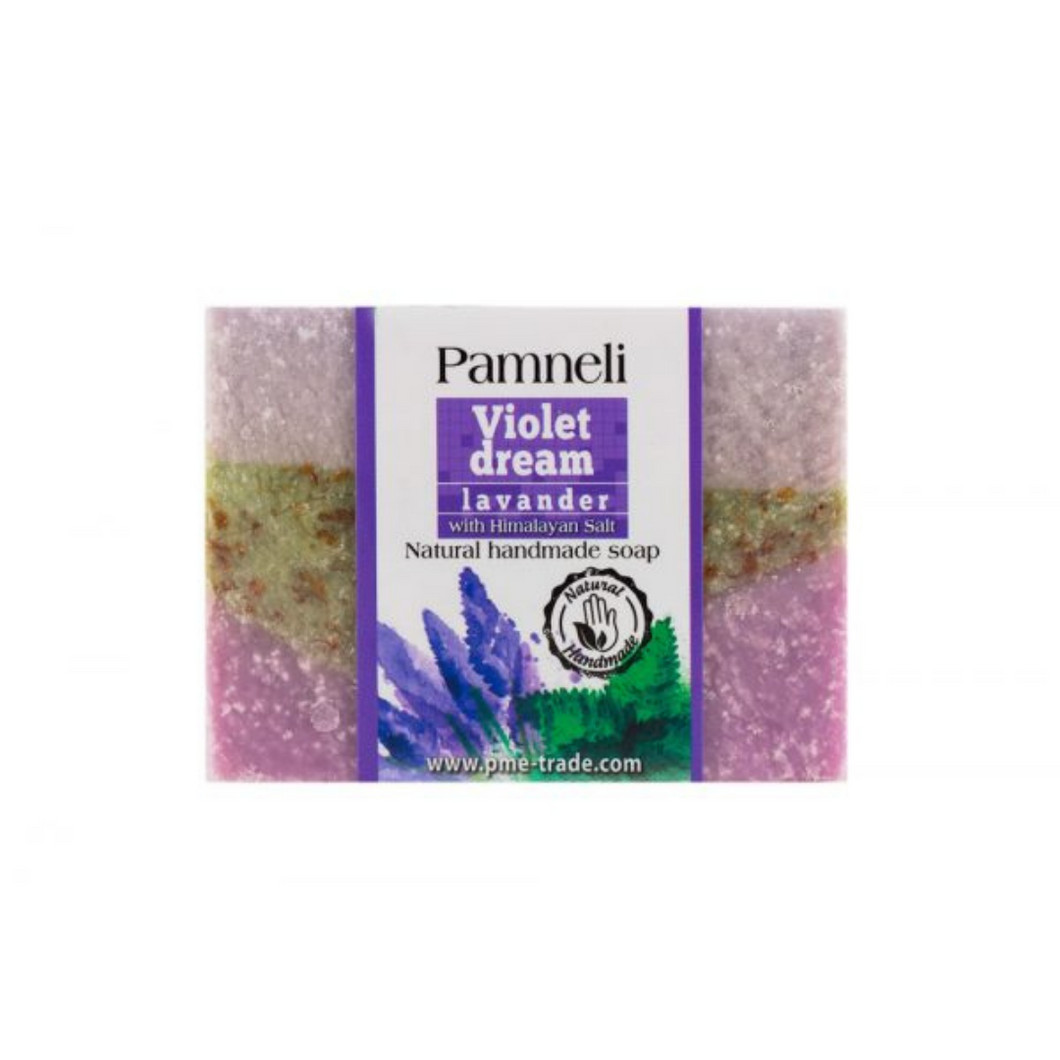 Salt and Crystal Pamneli Violet Dream Soap