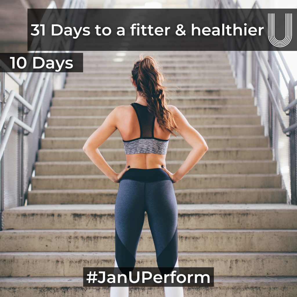 31 days to a fitter & healthier U - Your 10 Day Check-In