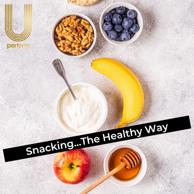 Snacking...The Healthy Way