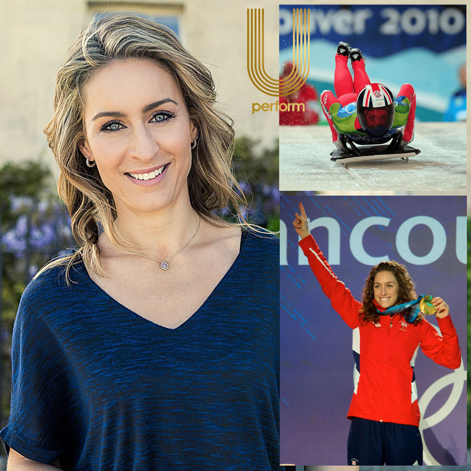 U Perform Expert and Presenter - Amy Williams MBE OLY
