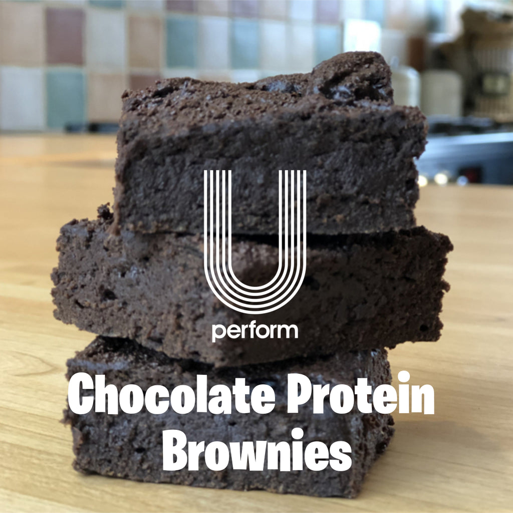Protein & Chocolate Brownie Bites