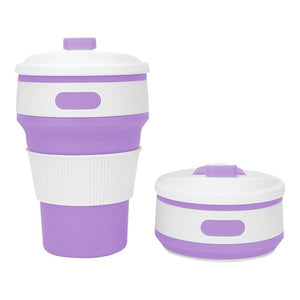 Drinking Collapsible coffee cup
