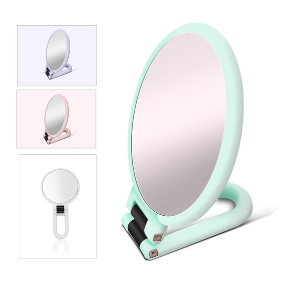 Sided Foldable Cosmetic Mirror