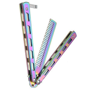 Training Butterfly Knife Comb