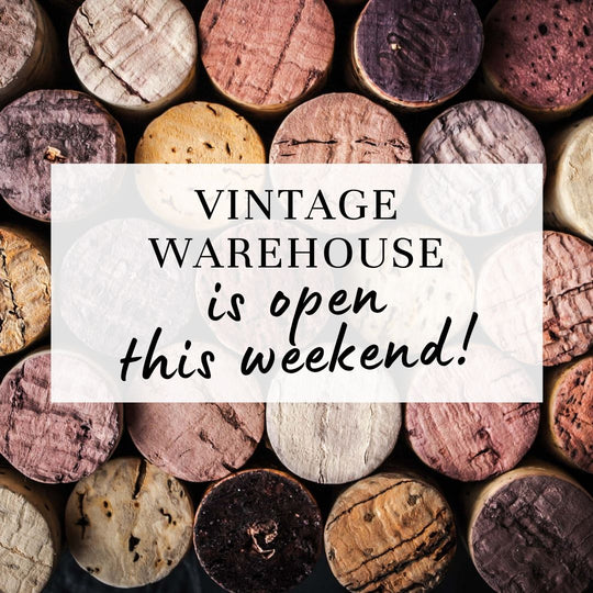 Vintage's warehouse reopening