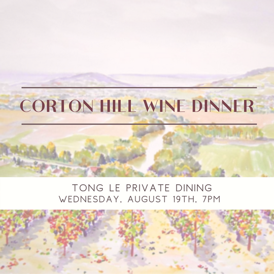 Corton Hill Wine Dinner