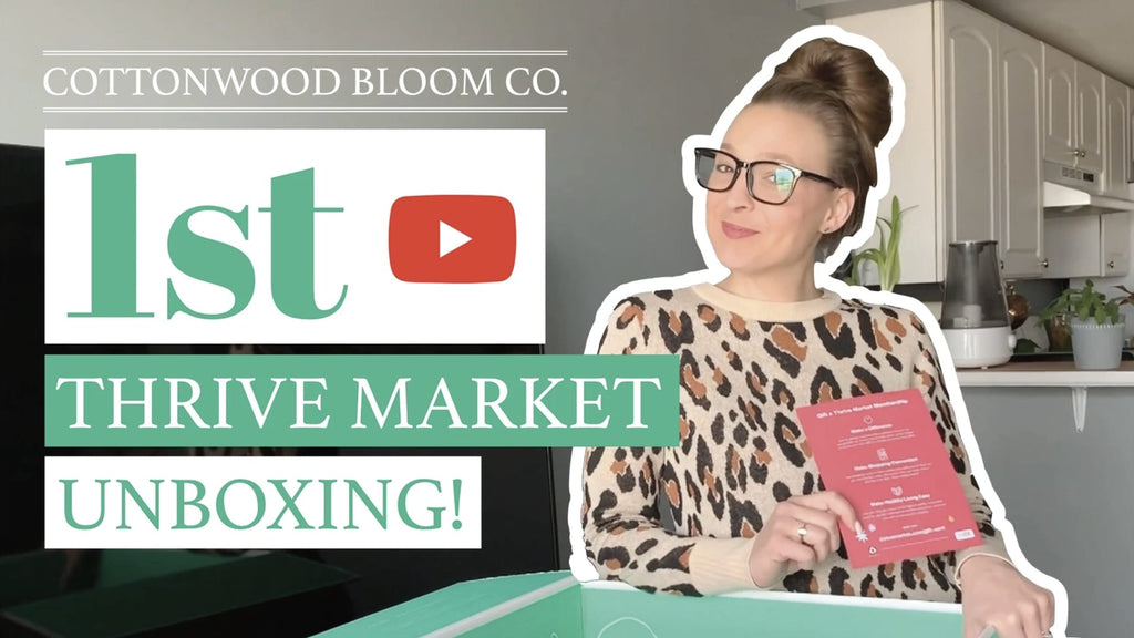 Our First Thrive Market Haul (YouTube Video)