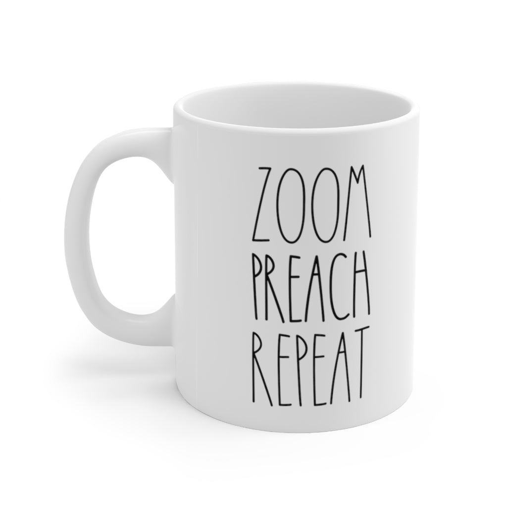Zoom Preach Repeat Mug - cottonwoodbloomco