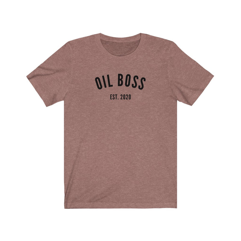 Oil Boss Est. 2020 T-Shirt - cottonwoodbloomco