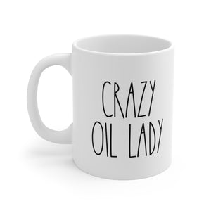 Crazy Oil Lady Mug - cottonwoodbloomco