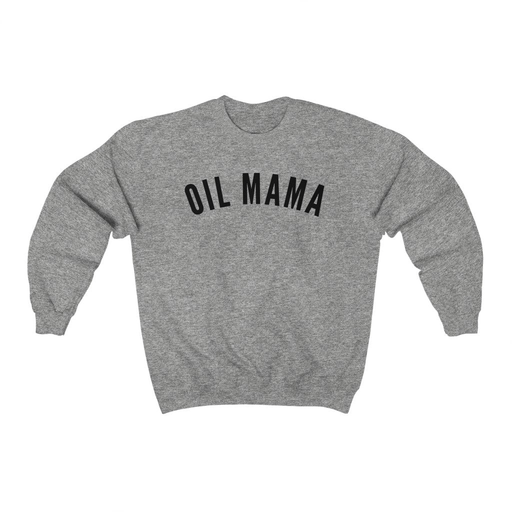 Oil Mama Heavy Blend™ Crewneck Sweatshirt - cottonwoodbloomco