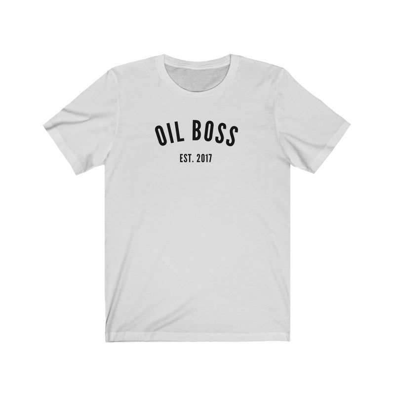 Oil Boss Est. 2017 T-Shirt - cottonwoodbloomco