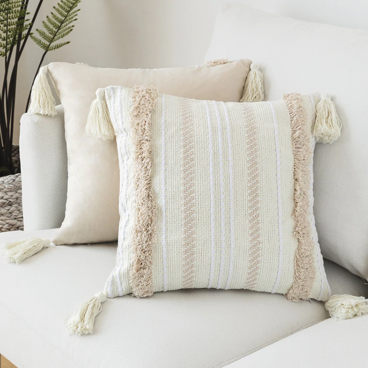***PRE-ORDER*** Woven Pillow/Cushion Covers - cottonwoodbloomco