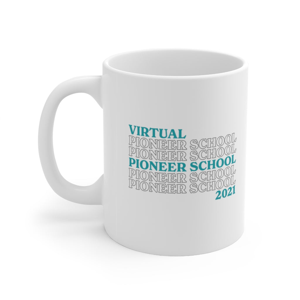 Virtual Pioneer School of 2021 Mug - cottonwoodbloomco