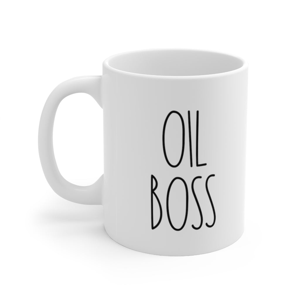 Oil Boss Ceramic Mug - cottonwoodbloomco