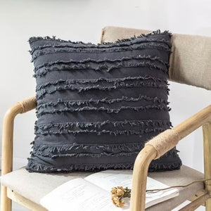 Modern Pillow Cover (Gray) - cottonwoodbloomco