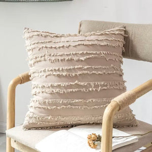 Modern Pillow Cover (Cream) - cottonwoodbloomco
