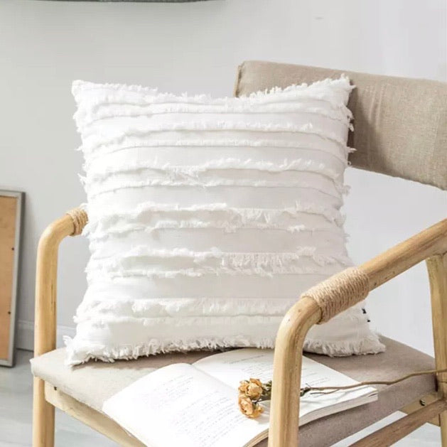 Modern Pillow Cover (White) - cottonwoodbloomco